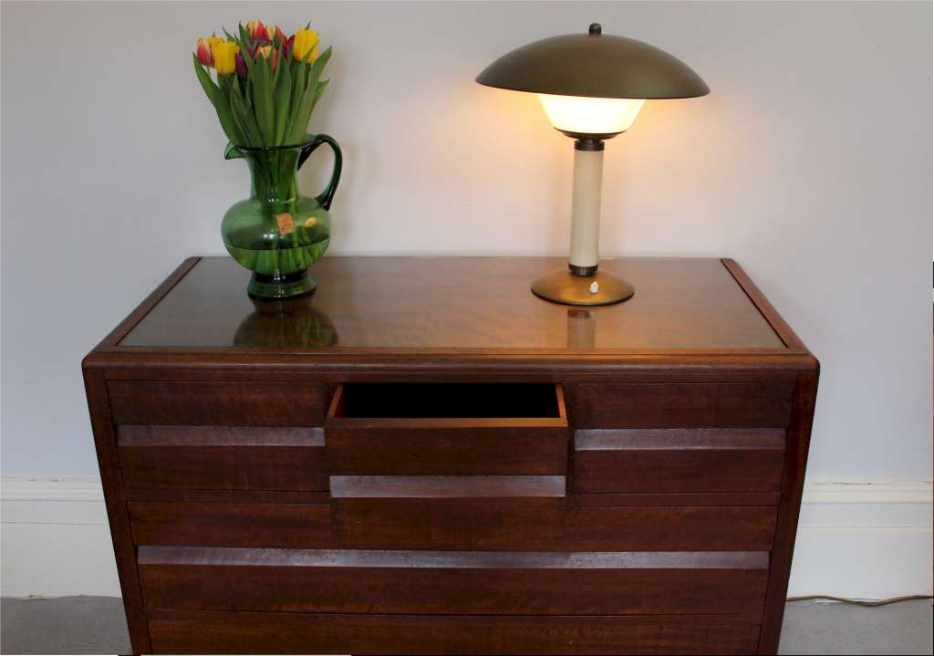 Art Deco chest of drawers designed by Betty Joel
