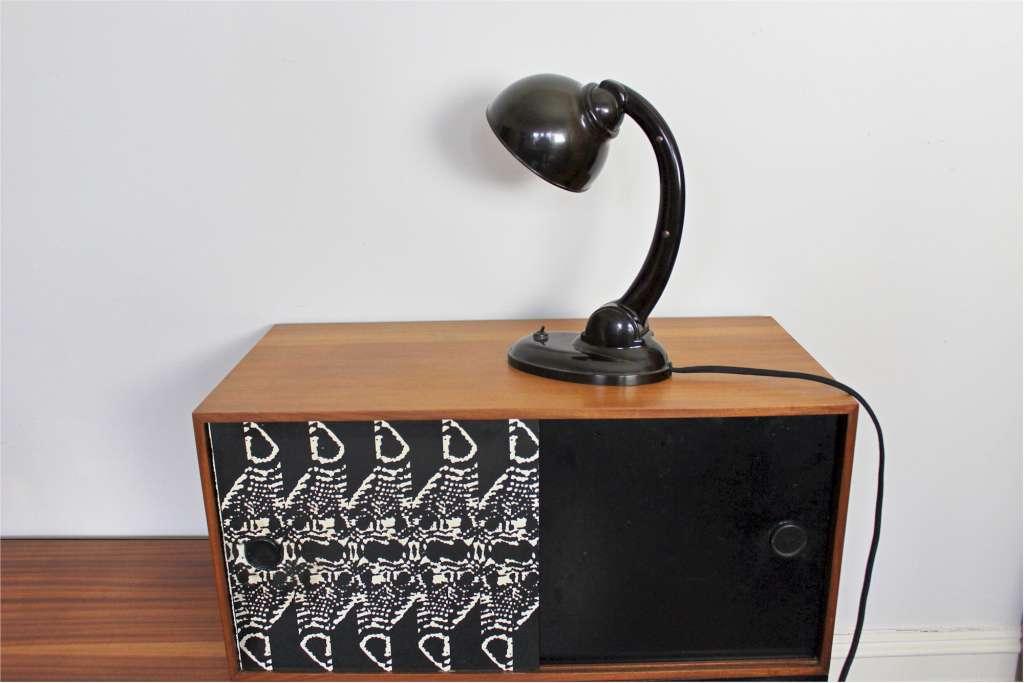 bakelite art deco desk lamp