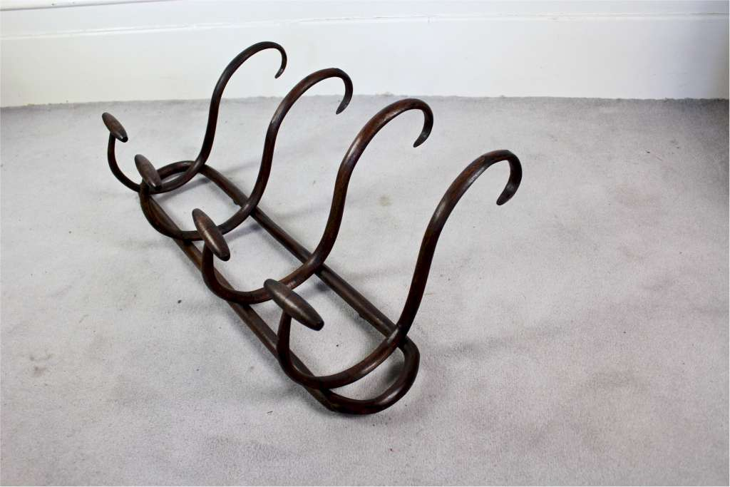 Bentwood hat rack c1900