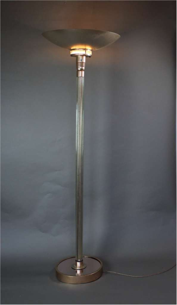 Classic original English Art Deco uplighter c1930