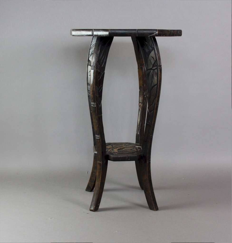 Arts & Crafts Japanese pedestal table for Liberty & Co