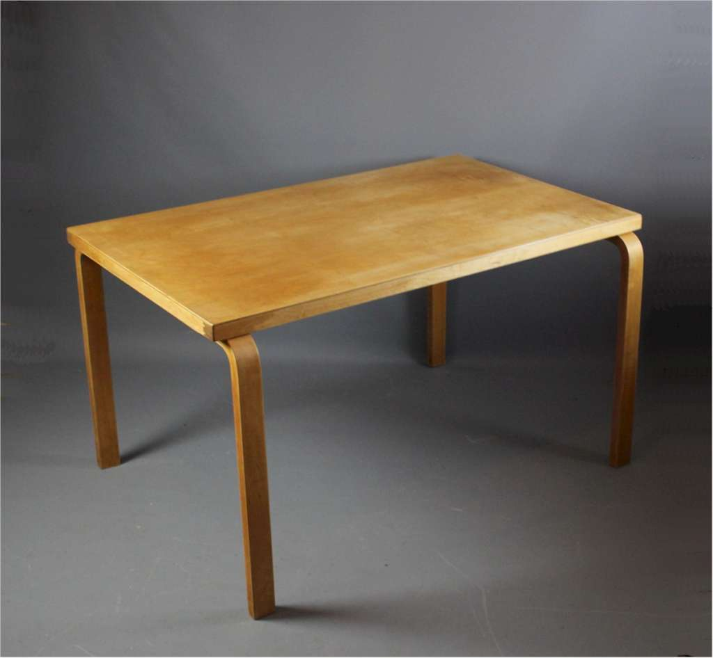 Alvar Aalto dining table for Finmar