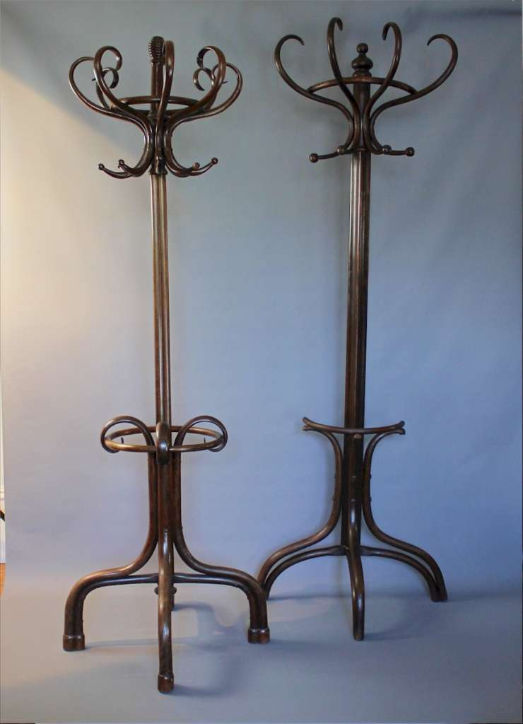 Bentwood hat stand by Fischel