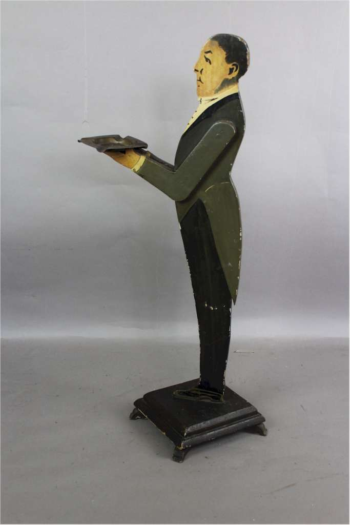 1930's Dumb waiter in the form of a butler.