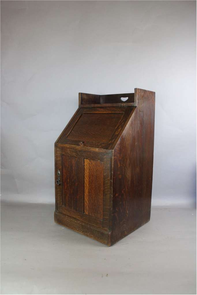 Rare Liberty & Co arts and crafts fireside cabinet