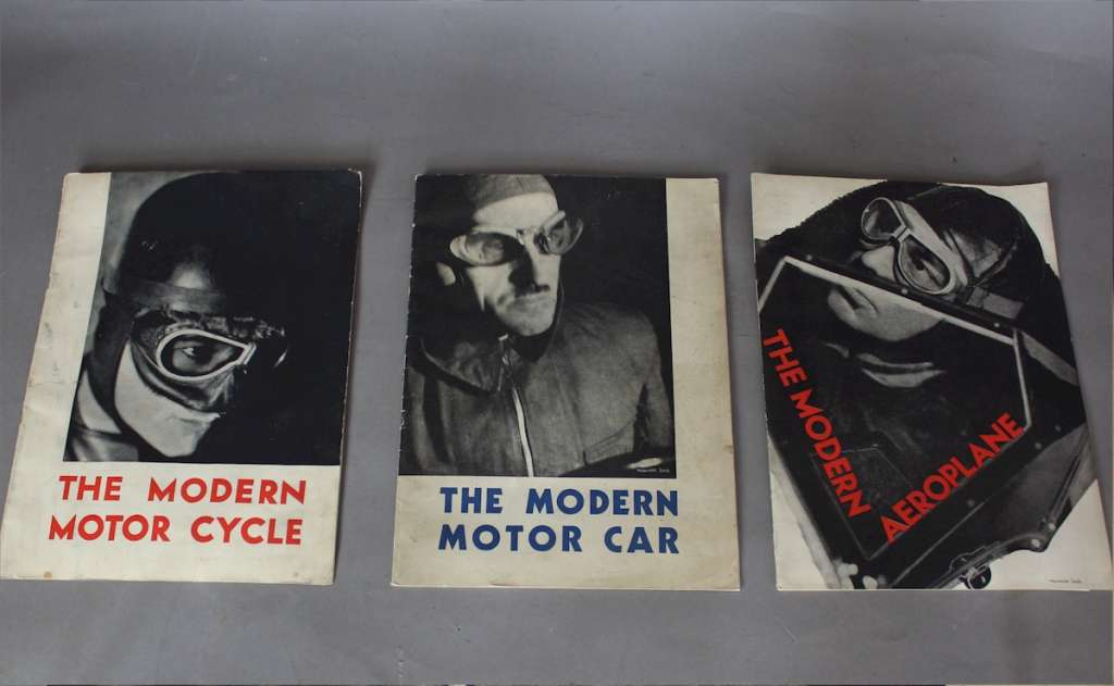 Three Shell motor magazines by Maurice Beck.