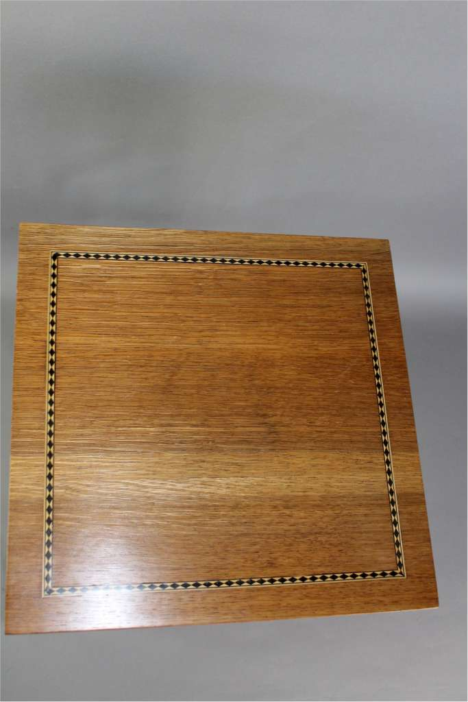 Arts and Crafts occasional table in golden oak