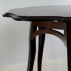 Occasional table in the manner of Morris and Co