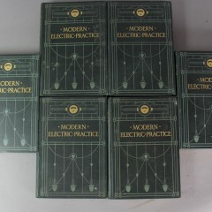 Set of six volumes Modern Electric Practice