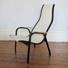 Original 1960's Kurva chair by Yngve Ekström Swedish designer