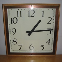Large Art Deco wall clock