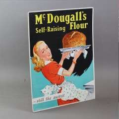 McDougalls flour advertising sign