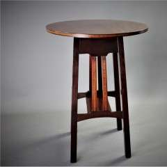 Arts & Crafts Heals Mahogany Occasional Table