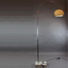 1960's Arc lamp with marble base