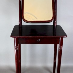 Bentwood dressing table c1900
