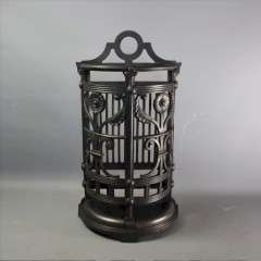 Aesthetic Movement Coalbrookdale stick stand