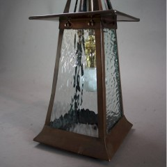 arts and Crafts copper lantern
