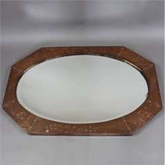Arts and Crafts period wall mirror