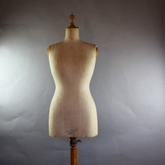 French dressmakers dummy c1920's by Girard Paris