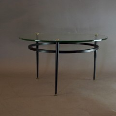 French mid century coffee table