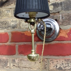 Antique nautical Gimbal lamp