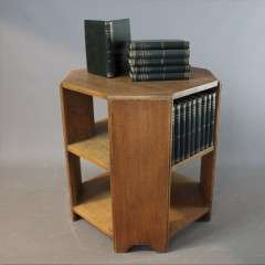 Heals 1930's oak book table.