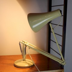 Herbert Terry anglepoise lamp cream coloured c1960's