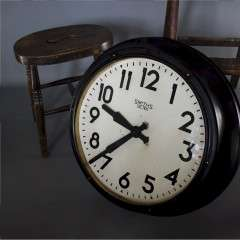Large Factory clock by Smiths Sectric.