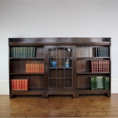 Arts and Crafts stylish bookcase by Liberty & Co