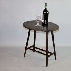 Arts and Crafts small folding wine table Liberty & Co