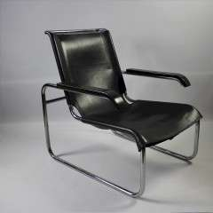 Bauhaus Model B35 Lounge Chair by Marcel Breuer for Thonet