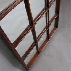 Teak sectional mirror 1950's