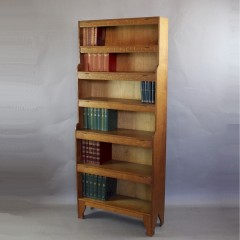 Arthur Simpson and the Handicrafts arts and crafts waterfall bookcase