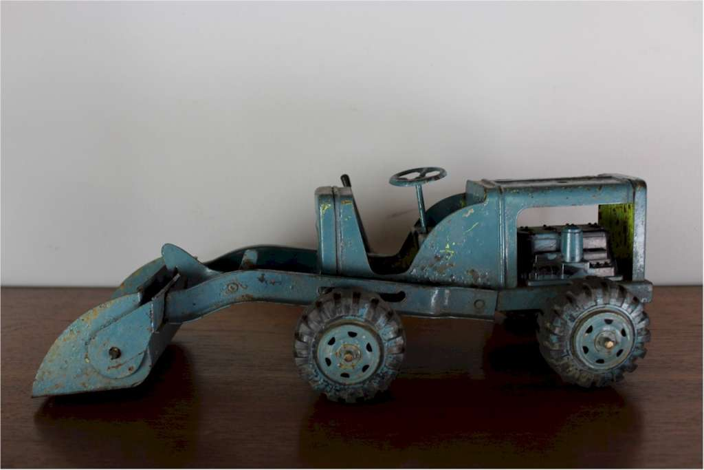 Vintage toy tractor